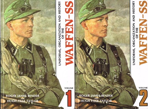 Image for UNIFORMS, ORGANIZATION AND HISTORY OF THE WAFFEN-SS (FIVE VOLUME SET)