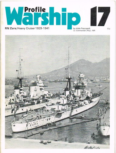 Image for PROFILE WARSHIP 17: RN ZARA / HEAVY CRUISER 1929-1941