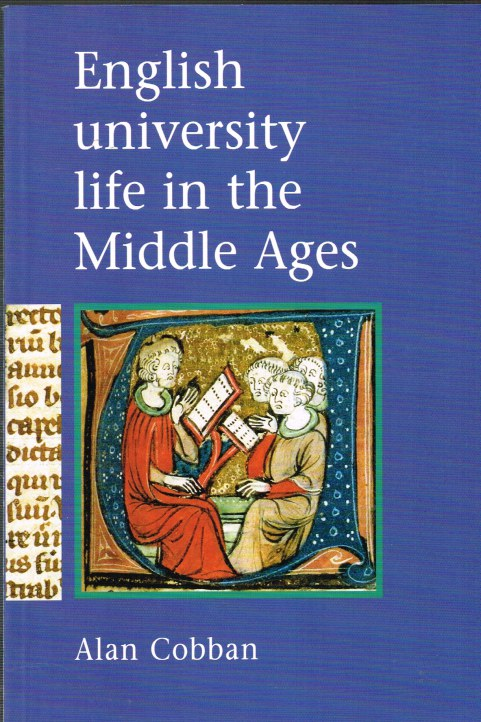 Image for ENGLISH UNIVERSITY LIFE IN THE MIDDLE AGES