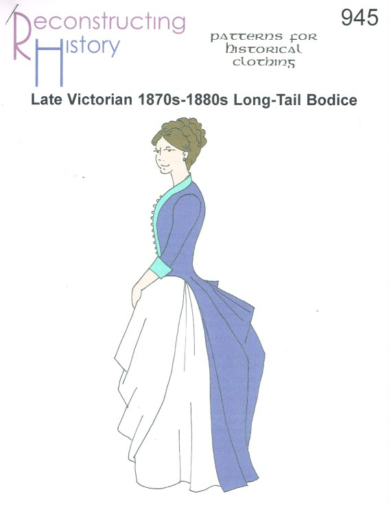 Image for RH945: LATE VICTORIAN 1870S-1880S LONG-TAILED BODICE