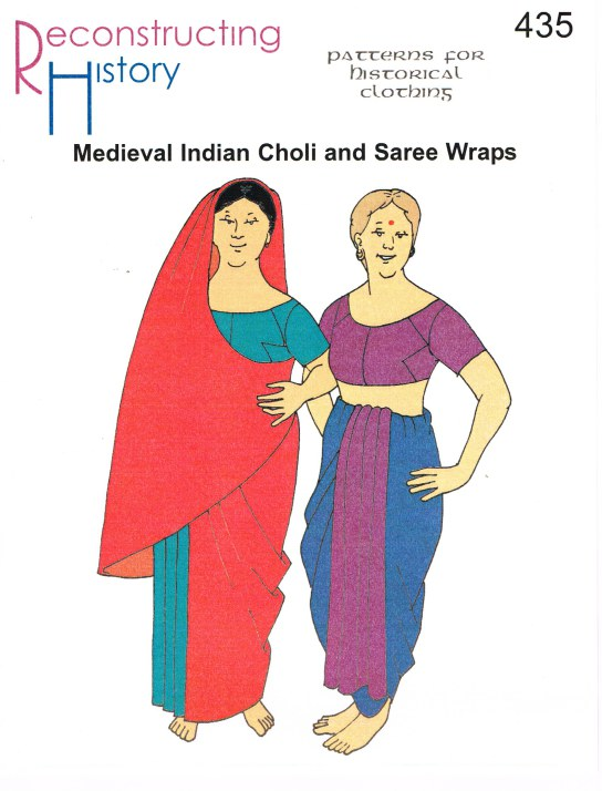 Image for RH435: MEDIEVAL INDIAN CHOLI AND SAREE WRAPS