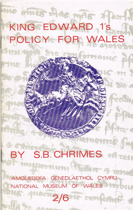 Image for KING EDWARD 1'S POLICY FOR WALES