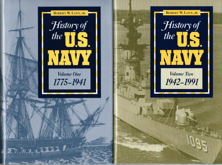 Image for HISTORY OF THE US NAVY 1775-1991 (TWO VOLUME SET)
