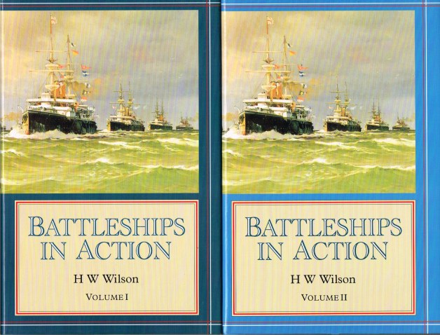Image for BATTLESHIPS IN ACTION (TWO VOLUME SET)