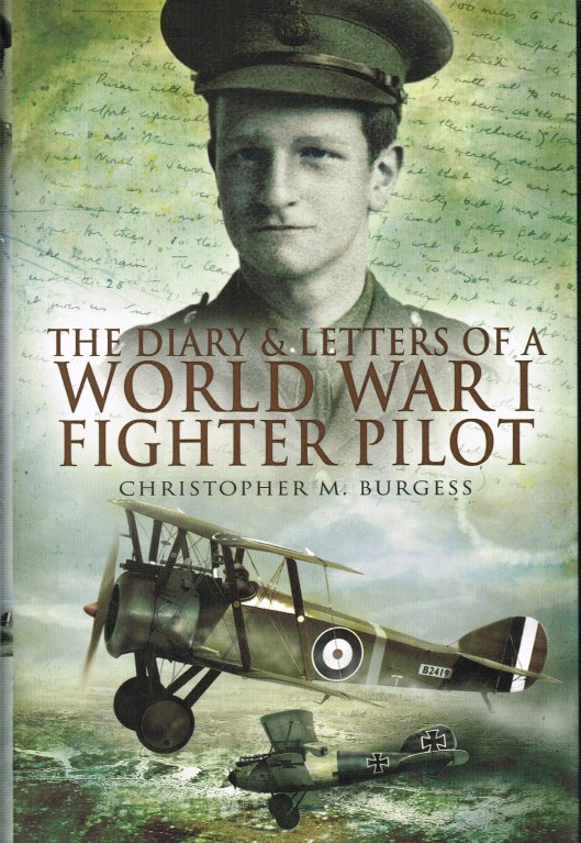 Image for THE DIARY AND LETTERS OF A WORLD WAR I FIGHTER PILOT