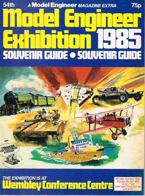 Image for 54TH MODEL ENGINEER EXHIBITION 1985 SOUVENIR GUIDE
