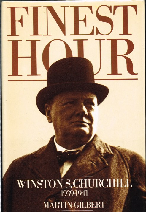 Image for FINEST HOUR: WINSTON S. CHURCHILL 1939-1941