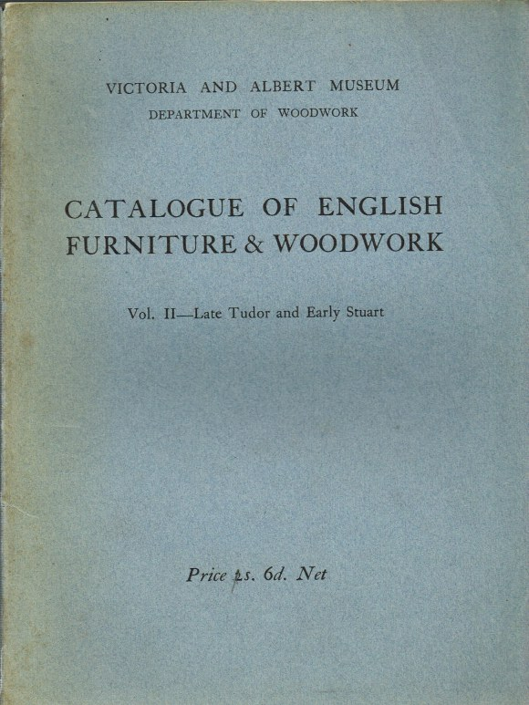 Image for CATALOGUE OF ENGLISH FURNITURE & WOODWORK: VOL II - LATE TUDOR AND EARLY STUART