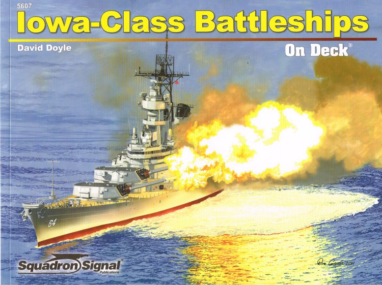 Image for IOWA-CLASS BATTLESHIPS ON DECK