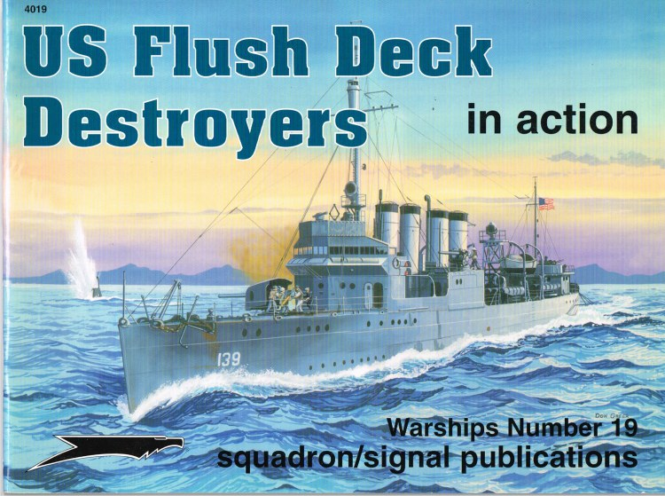 Image for US FLUSH DECK DESTROYERS IN ACTION