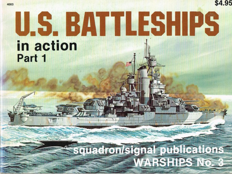 Image for US BATTLESHIPS IN ACTION PART 1