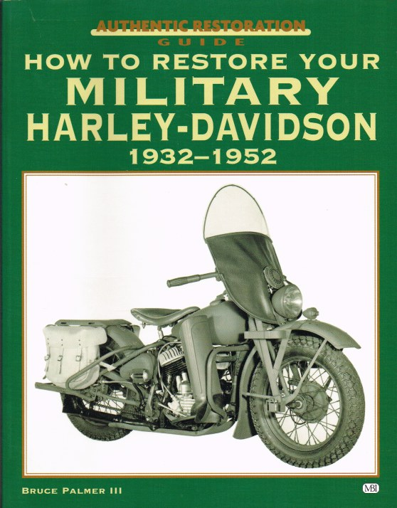 Image for HOW TO RESTORE YOUR MILITARY HARLEY-DAVIDSON 1932-1952