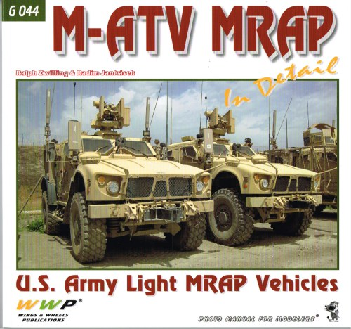 Image for M-ATV MRAP IN DETAIL : US ARMY LIGHT MRAP VEHICLES