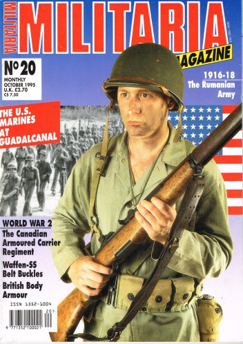 Image for MILITARIA MAGAZINE NO 20 : OCTOBER 1995