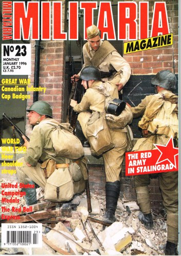 Image for MILITARIA MAGAZINE NO 23 : JANUARY 1996
