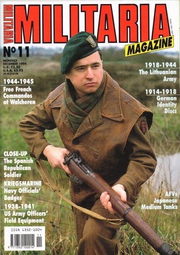 Image for MILITARIA MAGAZINE NO 11 : DECEMBER 1994