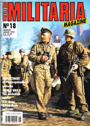 Image for MILITARIA MAGAZINE NO 18 : AUGUST 1995