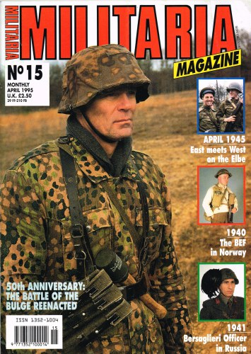 Image for MILITARIA MAGAZINE NO 15 : APRIL 1995