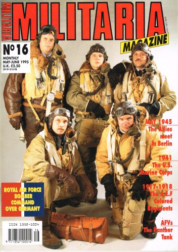 Image for MILITARIA MAGAZINE NO 16 : MAY-JUNE 1995