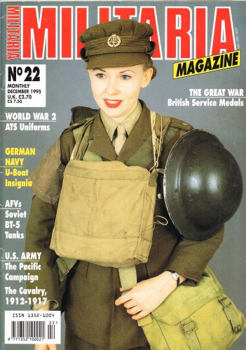 Image for MILITARIA MAGAZINE NO 22 : DECEMBER 1995