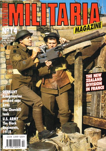 Image for MILITARIA MAGAZINE NO 14 : MARCH 1995