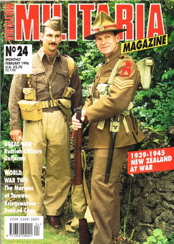 Image for MILITARIA MAGAZINE NO 24 : FEBRUARY 1996