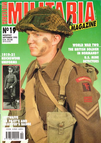 Image for MILITARIA MAGAZINE NO 19 : SEPTEMBER 1995