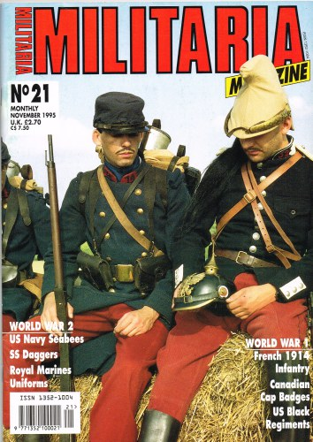Image for MILITARIA MAGAZINE NO 21 : NOVEMBER 1995