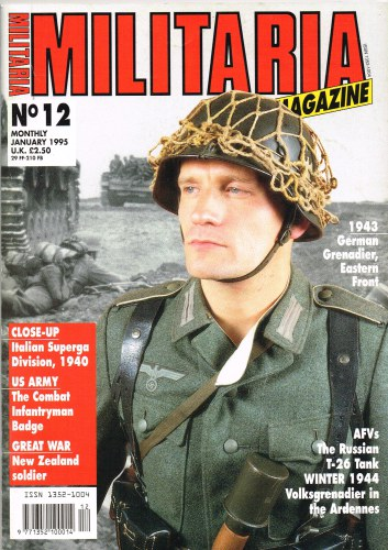 Image for MILITARIA MAGAZINE NO 12 : JANUARY 1995