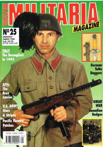 Image for MILITARIA MAGAZINE NO 25 : MARCH 1996