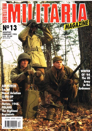 Image for MILITARIA MAGAZINE NO 13 : FEBRUARY 1995