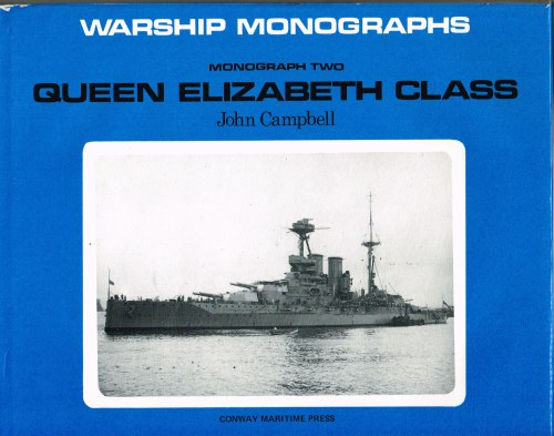 Image for WARSHIP MONOGRAPHS: MONOGRAPH TWO: QUEEN ELIZABETH CLASS