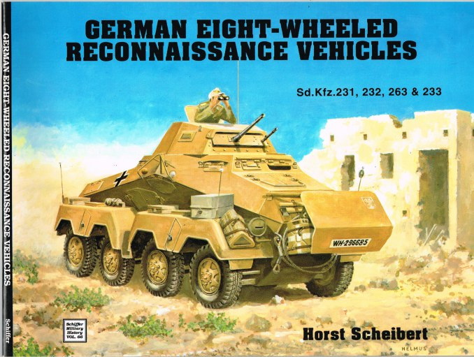 Image for GERMAN EIGHT-WHEELED RECONNAISSANCE VEHICLES