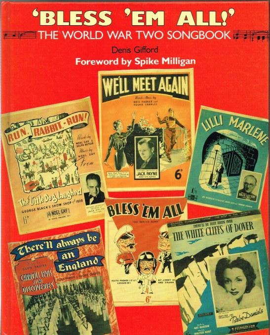 Image for BLESS 'EM ALL! THE WORLD WAR TWO SONGBOOK
