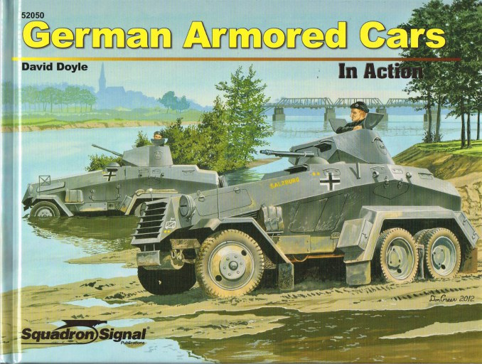 Image for GERMAN ARMORED CARS IN ACTION