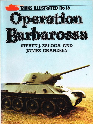 Image for TANKS ILLUSTRATED NO.16 - OPERATION BARBAROSSA