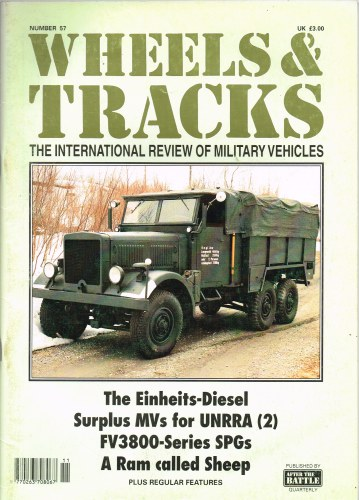 Image for WHEELS & TRACKS: THE INTERNATIONAL REVIEW OF MILITARY VEHICLES: NUMBER 57