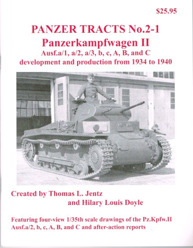 Image for PANZER TRACTS NO. 2-1: PANZERKAMPFWAGEN II AUSF.A/1 TO C