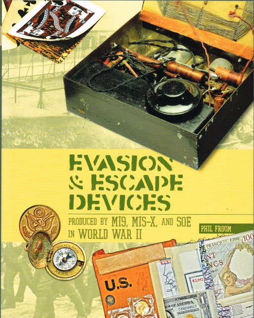 Image for EVASION & ESCAPE DEVICES PRODUCED BY MI9, MIS-X AND SOE IN WORLD WAR II