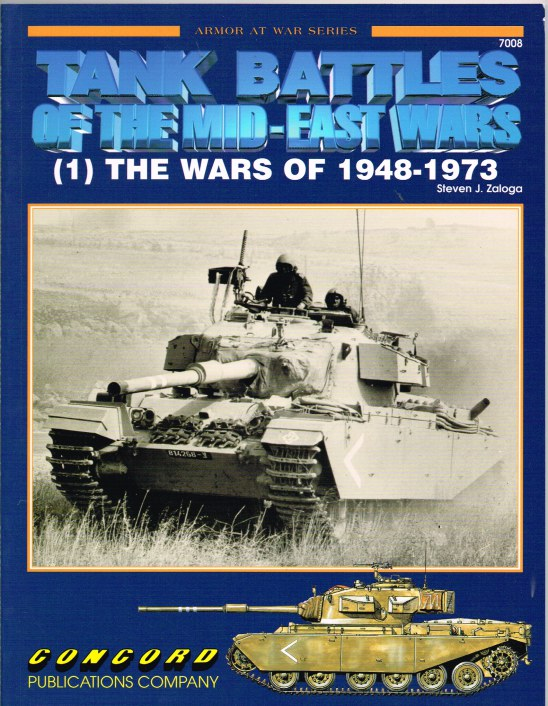 Image for TANK BATTLES OF THE MID-EAST WARS (1) THE WARS OF 1948-1973
