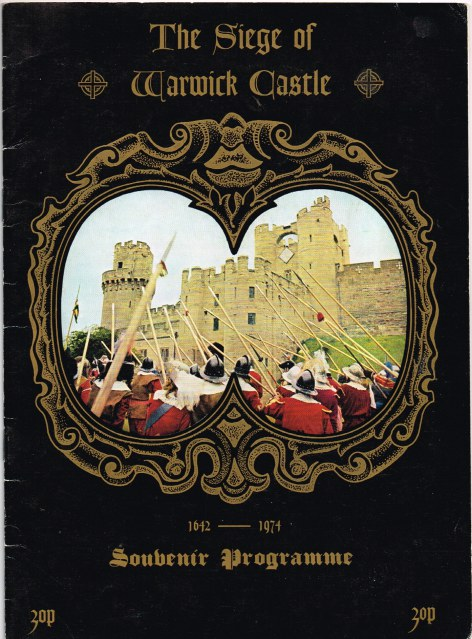 Image for THE SIEGE OF WARWICK CASTLE 1974 - SOUVENIR PROGRAMME (SEALED KNOT)