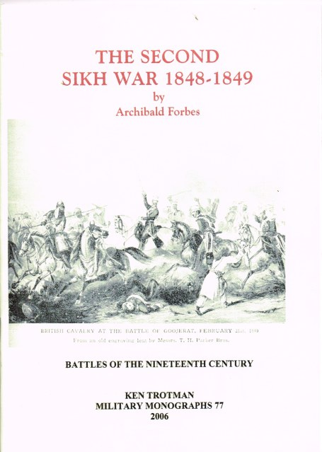 Image for THE SECOND SIKH WAR 1848-1849