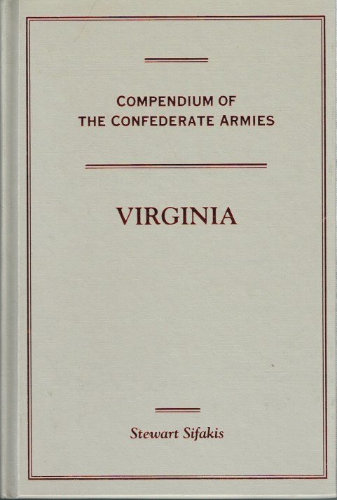 Image for COMPENDIUM OF THE CONFEDERATE ARMIES: VIRGINIA