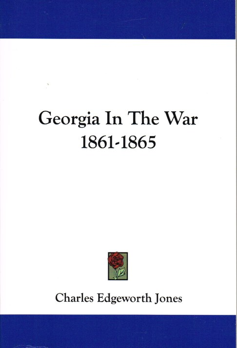 Image for GEORGIA IN THE WAR 1861-1865