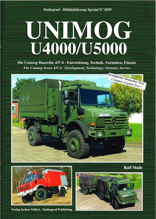 Image for UNIMOG U4000/U5000 - THE UNIMOG SERIES 437.4 - DEVELOPMENT, TECHNOLOGY, VARIANTS, SERVICE