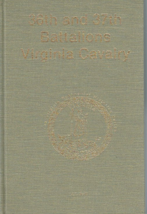 Image for 36TH AND 37TH BATALIONS VIRGINIA CAVALRY (SIGNED COPY)