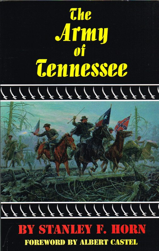 Image for THE ARMY OF TENNESSEE: A MILITARY HISTORY