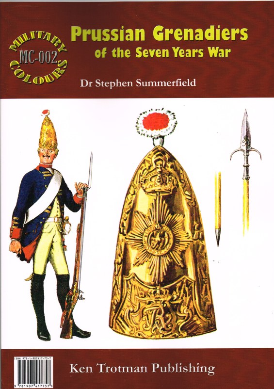 Image for MILITARY COLOURS 2: PRUSSIAN GRENADIERS OF THE SEVEN YEARS WAR