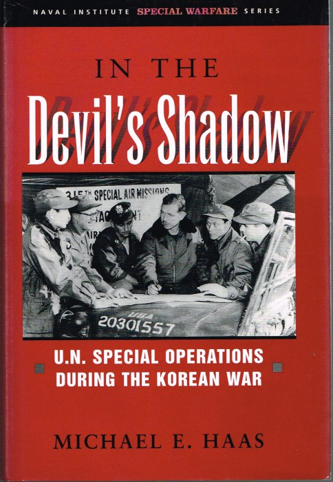 Image for IN THE SHADOW : US SPECIAL OPERATIONS DURING THE KOREAN WAR