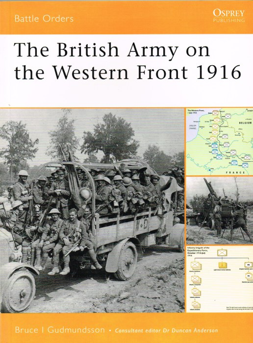 Image for THE BRITISH ARMY ON THE WESTERN FRONT 1916